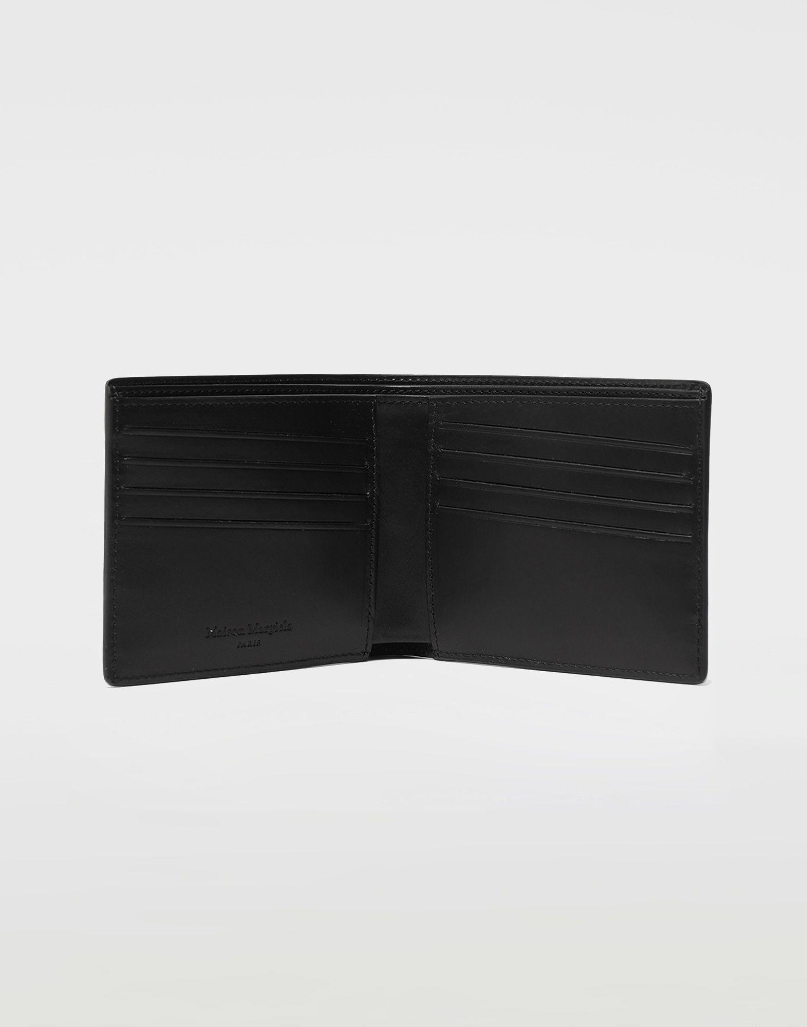 MAISON MARGIELA Logo-embossed leather cardholer Wallets Man d