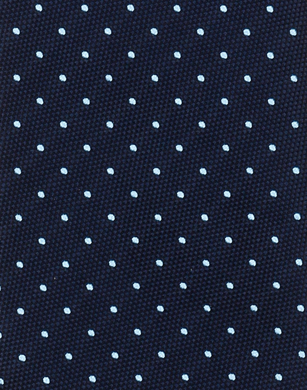 BRIONI Navy Blue Dotted Tie Tie [*** pickupInStoreShippingNotGuaranteed_info ***] d