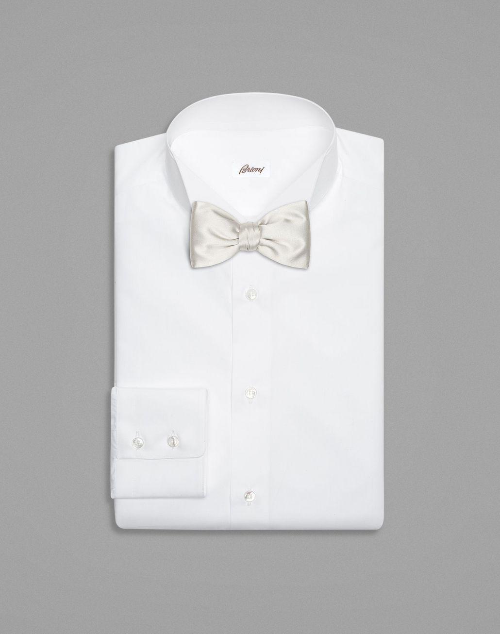 BRIONI Light Grey Bow Tie Bow Ties & Cummerbunds Man r