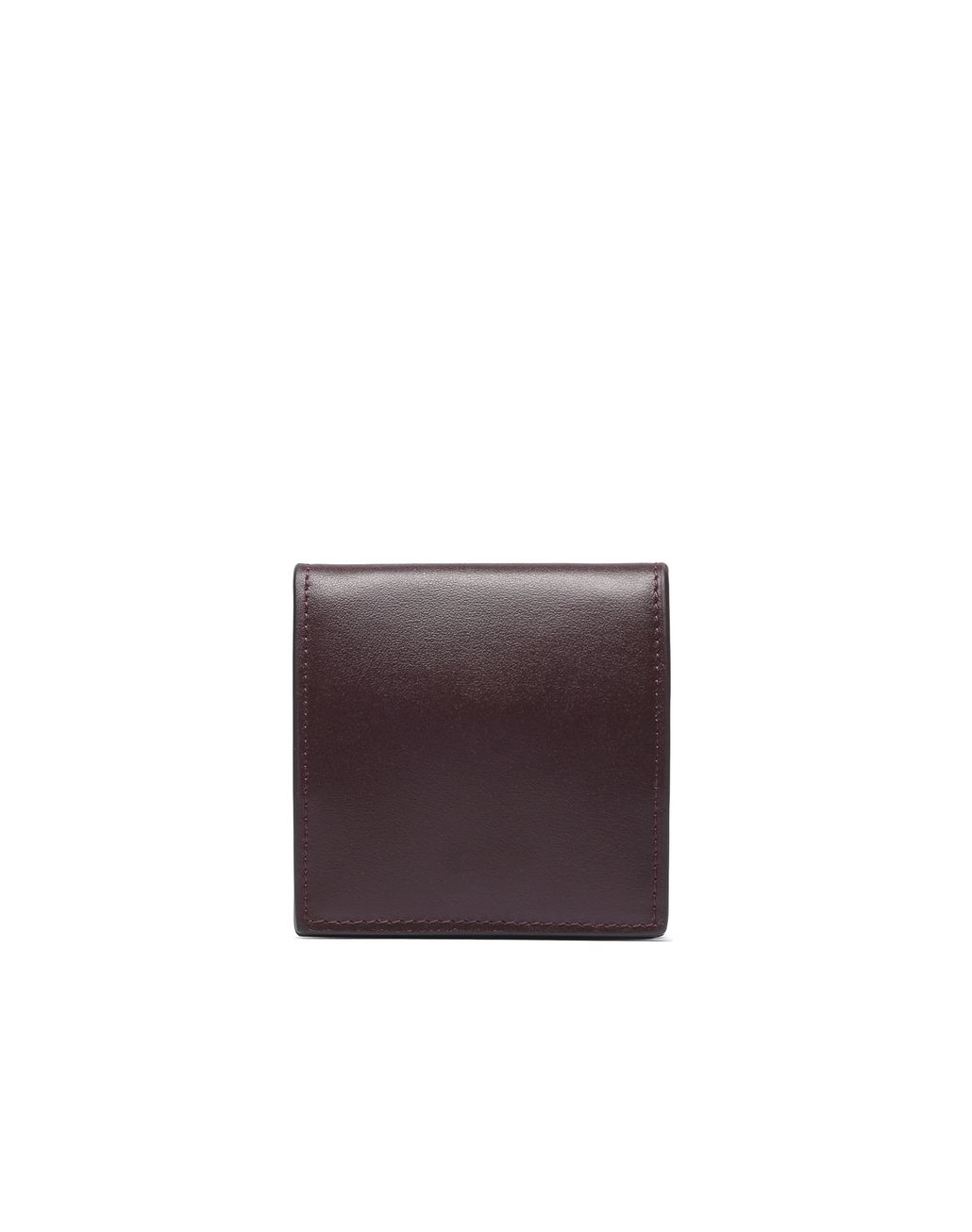 BRIONI Oxblood Coin Pocket Leather Goods Man d