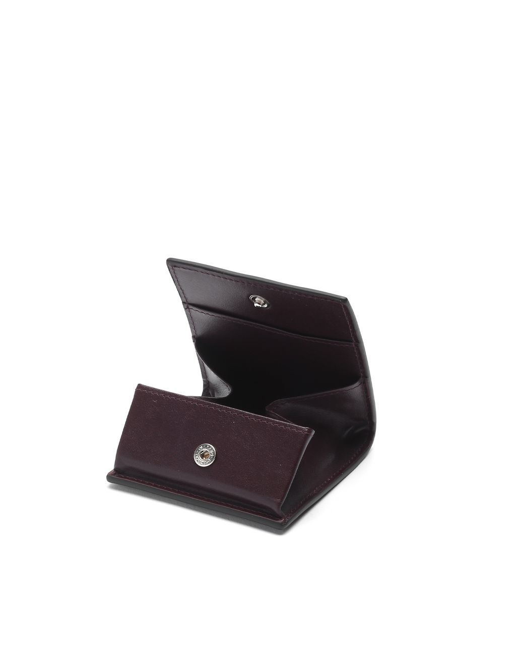 BRIONI Oxblood Coin Pocket Leather Goods Man r
