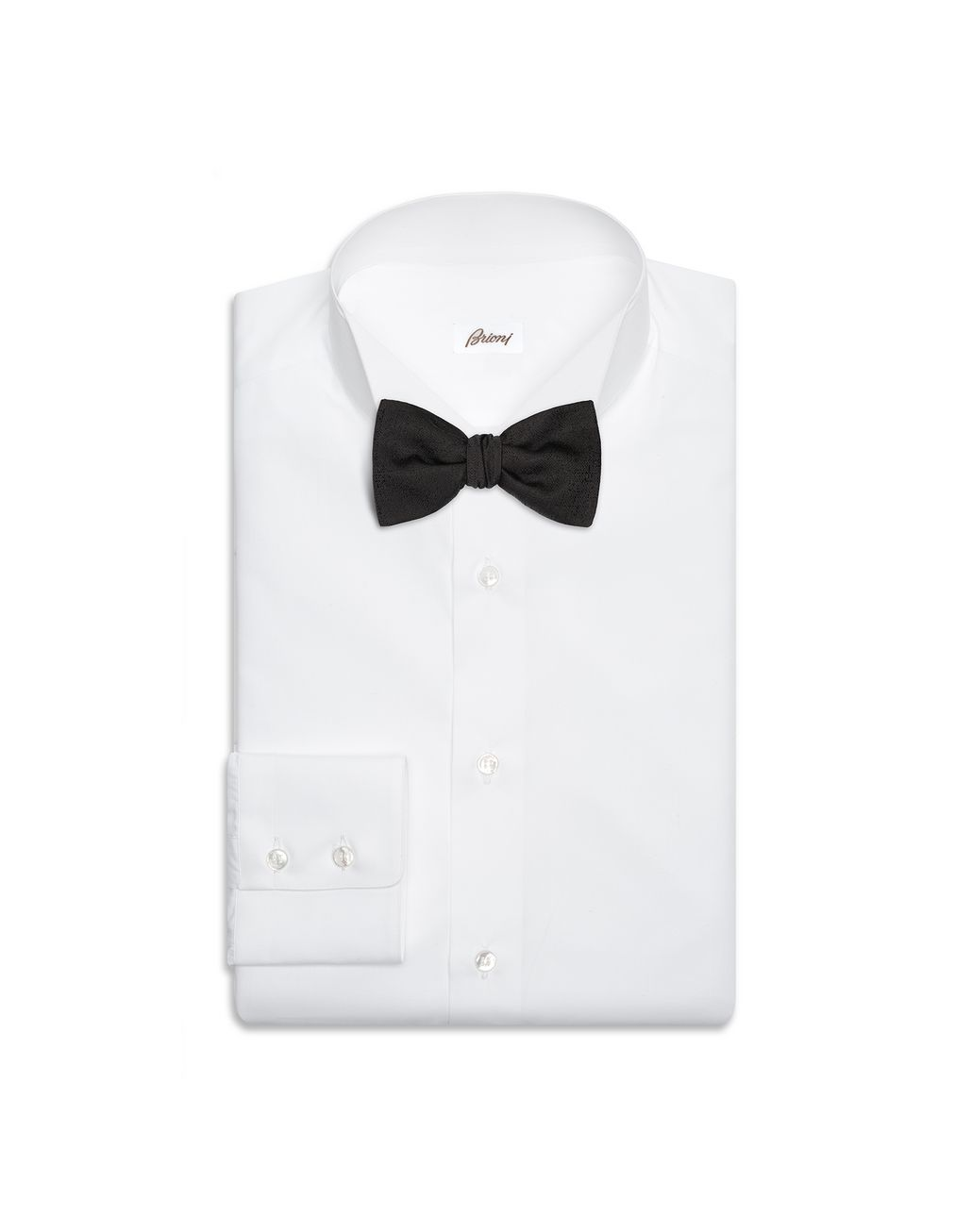 BRIONI Black Bow Tie Bow Ties & Cummerbunds Man r
