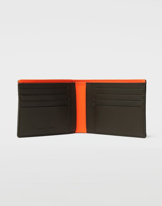 MAISON MARGIELA Small fold-out zipped leather wallet Wallets [*** pickupInStoreShippingNotGuaranteed_info ***] d