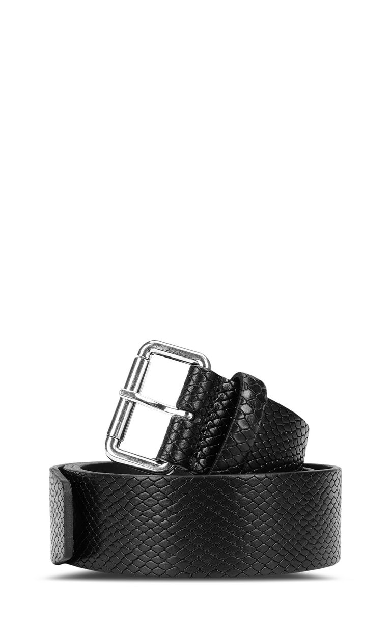 JUST CAVALLI Animal-print belt with logo Belt [*** pickupInStoreShipping_info ***] f
