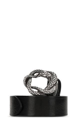 JUST CAVALLI Belt Man Snake buckle belt f