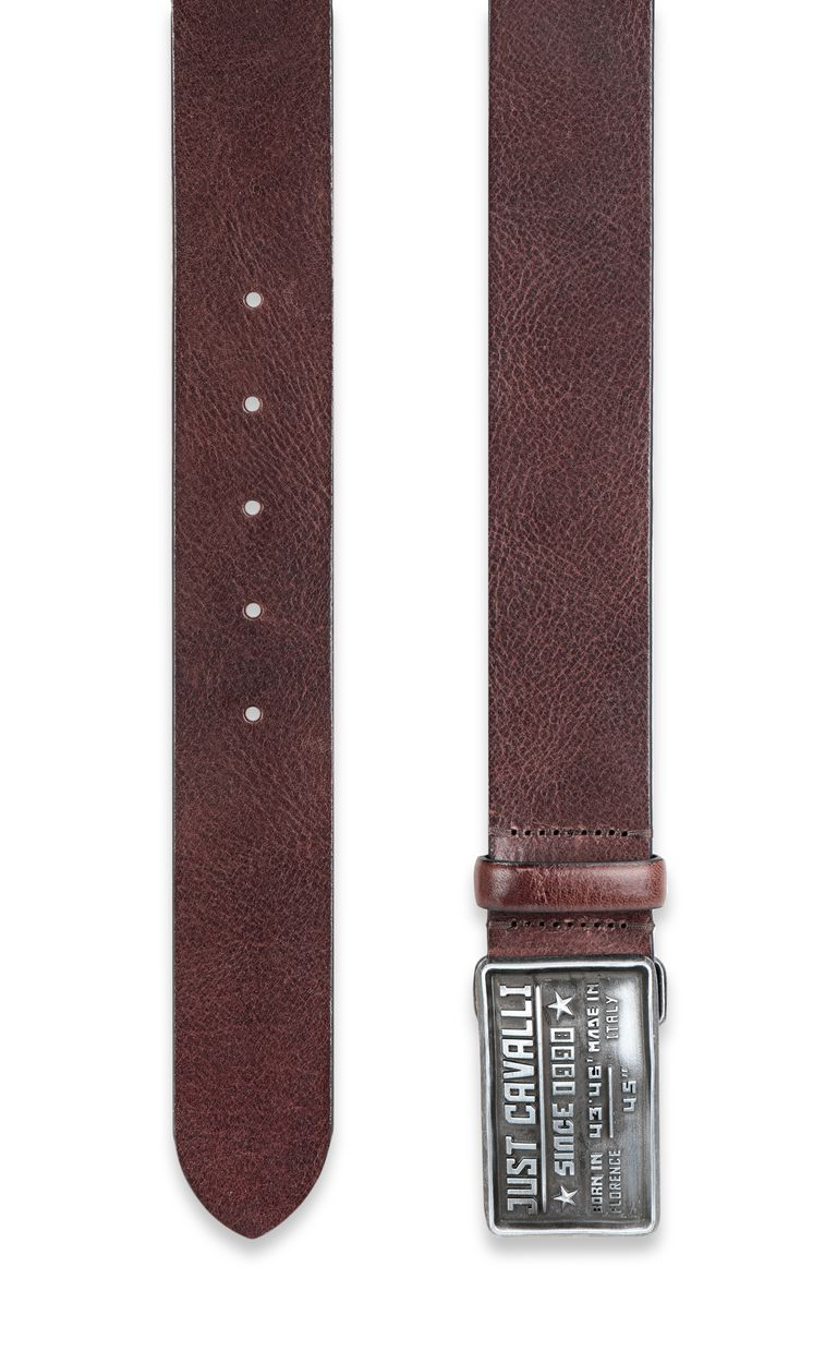 JUST CAVALLI Logo buckle belt Belt Man d