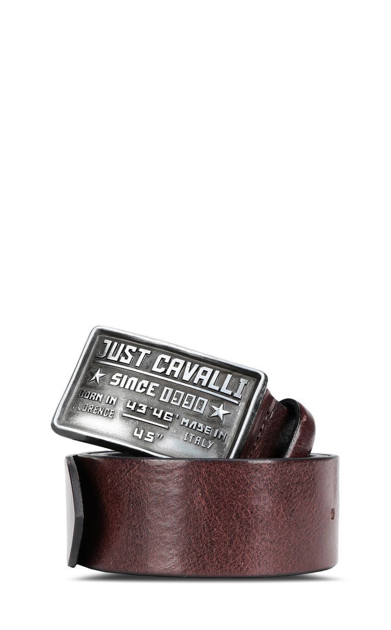 JUST CAVALLI Logo buckle belt Belt Man f