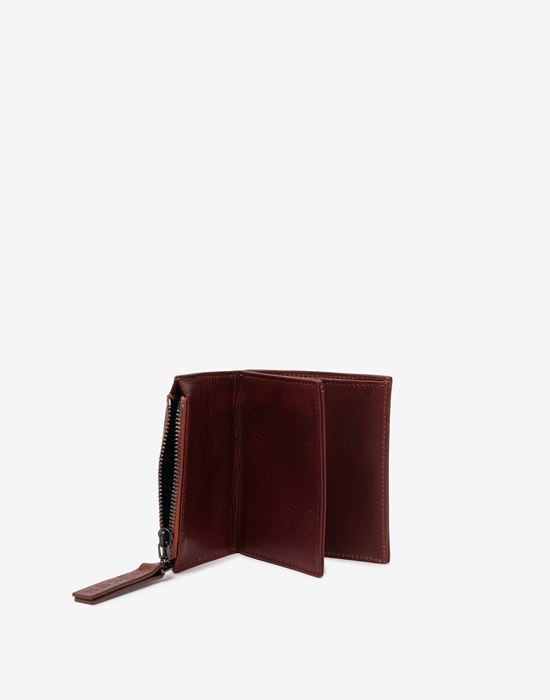MAISON MARGIELA Small leather wallet Wallet [*** pickupInStoreShippingNotGuaranteed_info ***] a