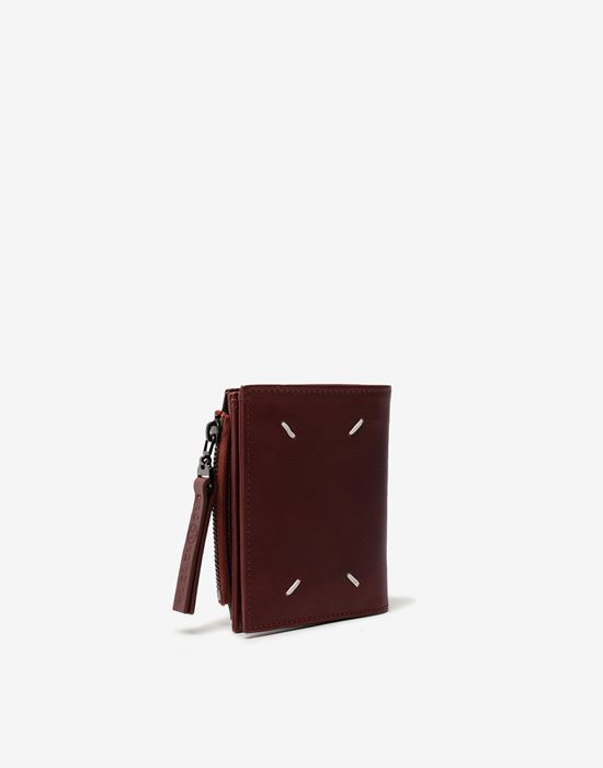 MAISON MARGIELA Small leather wallet Wallet [*** pickupInStoreShippingNotGuaranteed_info ***] r