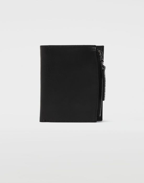 MAISON MARGIELA Large leather wallet Wallets [*** pickupInStoreShippingNotGuaranteed_info ***] f