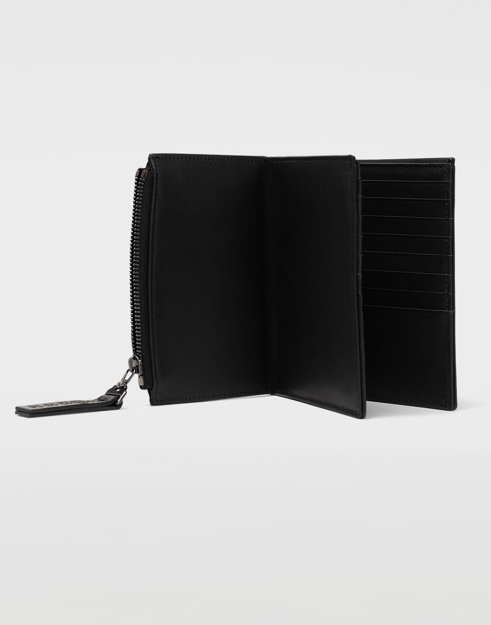 MAISON MARGIELA Große Brieftasche aus Leder Portemonnaie Herren a