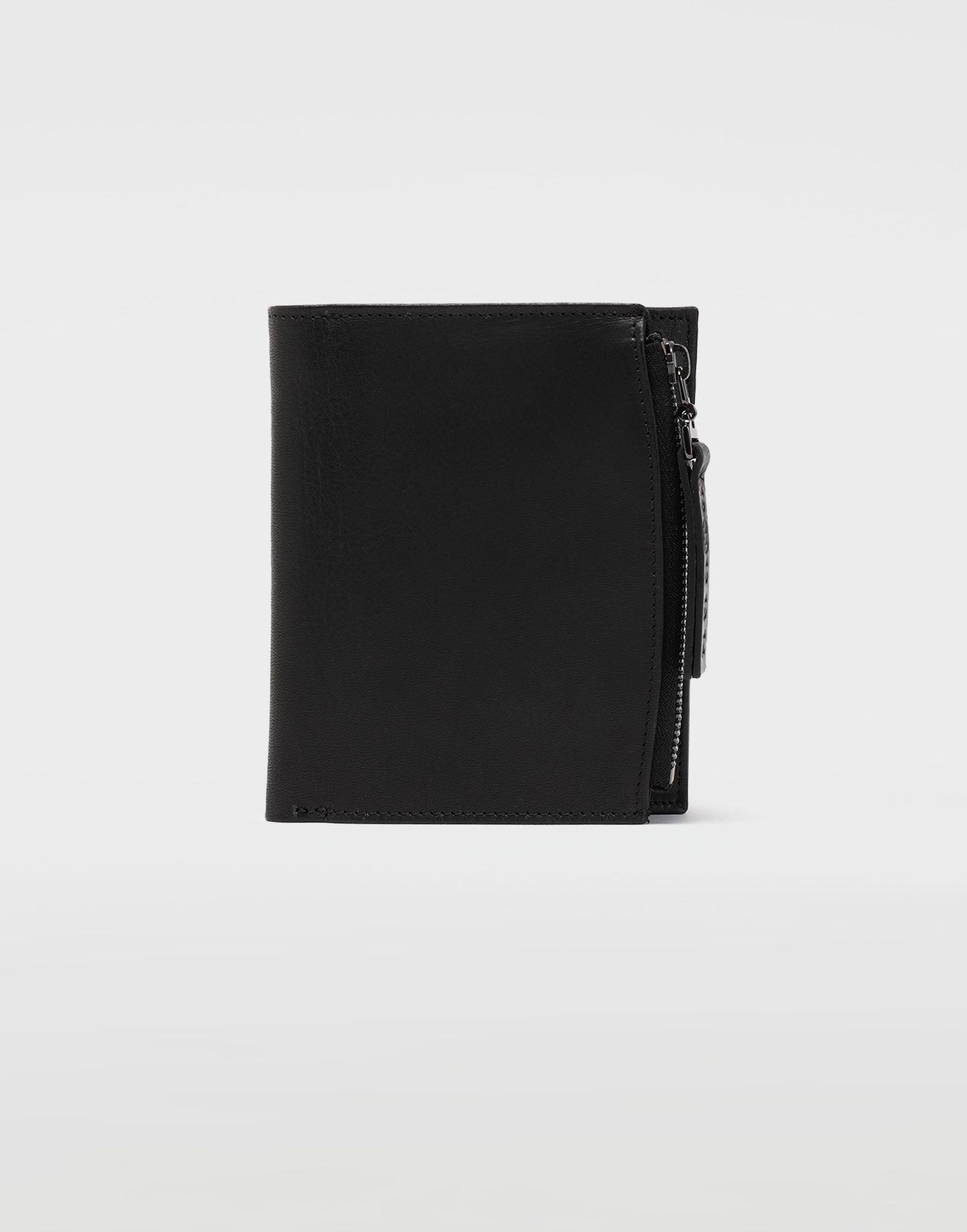 MAISON MARGIELA Große Brieftasche aus Leder Portemonnaie Herren f