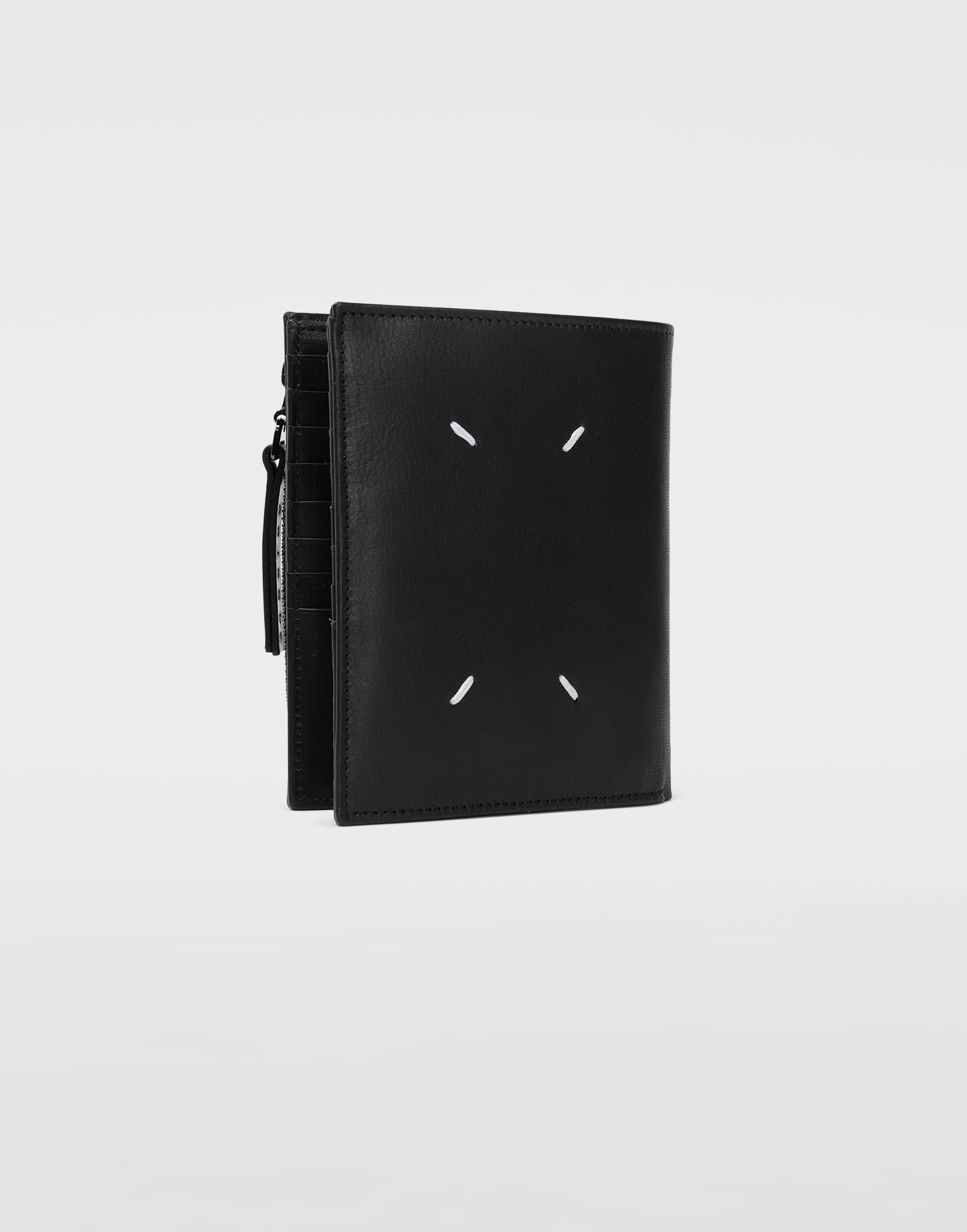 MAISON MARGIELA Große Brieftasche aus Leder Portemonnaie Herren r