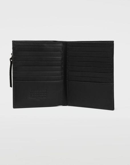 MAISON MARGIELA Große Brieftasche aus Leder Portemonnaie Herren d