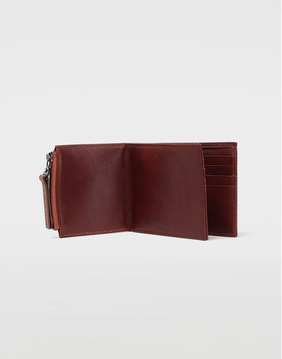 MAISON MARGIELA Folded leather wallet Wallets [*** pickupInStoreShippingNotGuaranteed_info ***] a