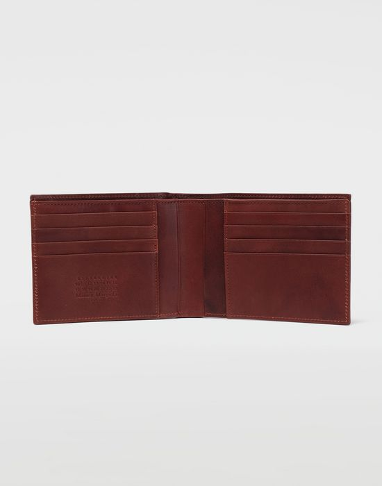 MAISON MARGIELA Folded leather wallet Wallet [*** pickupInStoreShippingNotGuaranteed_info ***] d