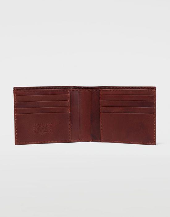 MAISON MARGIELA Folded leather wallet Wallets [*** pickupInStoreShippingNotGuaranteed_info ***] d