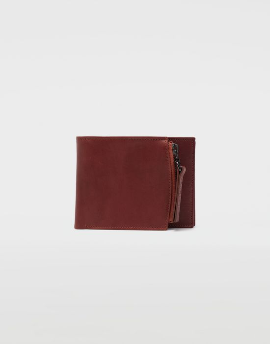MAISON MARGIELA Folded leather wallet Wallets [*** pickupInStoreShippingNotGuaranteed_info ***] f