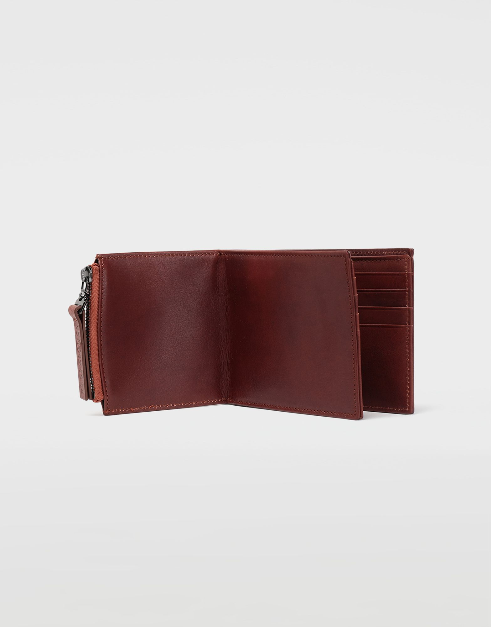 MAISON MARGIELA Folded leather wallet Wallets Man a