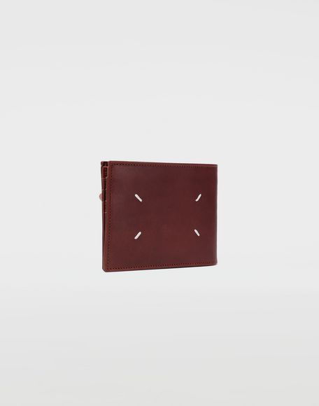 MAISON MARGIELA Folded leather wallet Wallets Man r