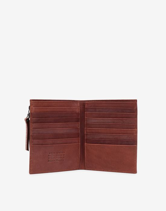 MAISON MARGIELA Folded leather wallet Wallets [*** pickupInStoreShippingNotGuaranteed_info ***] d