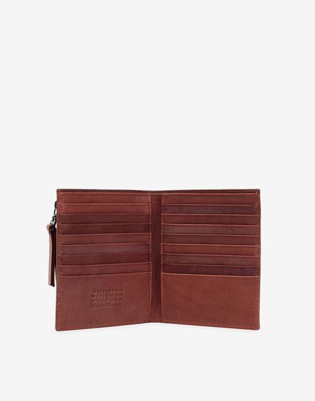 MAISON MARGIELA Folded leather wallet Wallet Man d