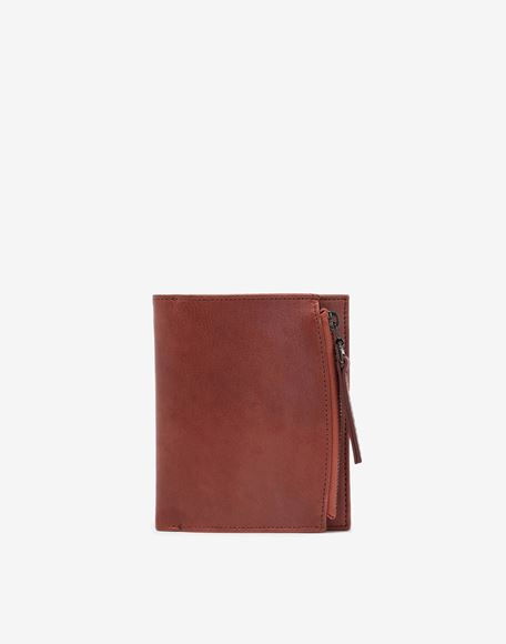 MAISON MARGIELA Folded leather wallet Wallet Man f