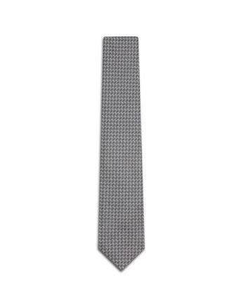 Grey Micro Design Tie