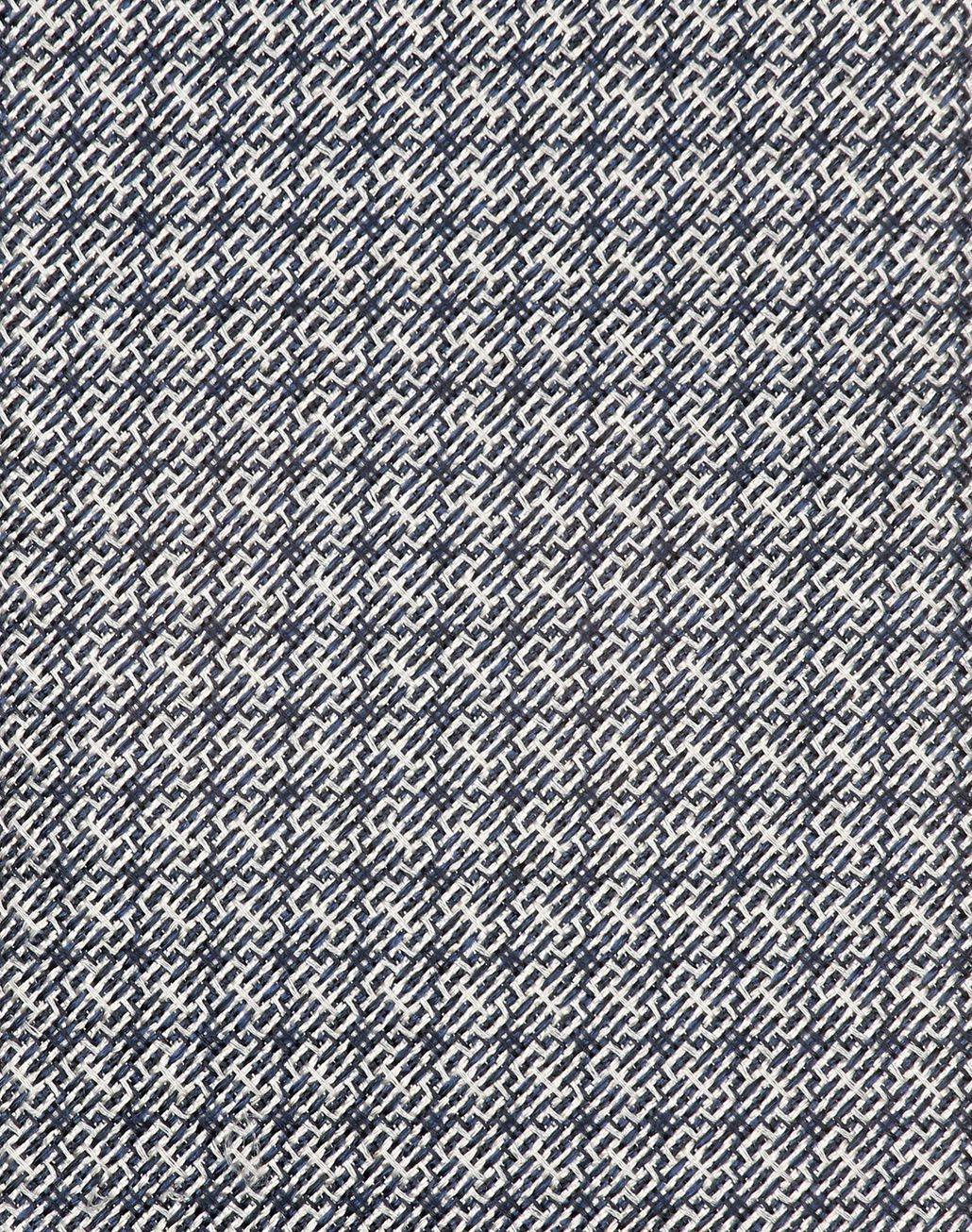 BRIONI Grey Micro Design Tie Tie [*** pickupInStoreShippingNotGuaranteed_info ***] d