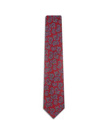 Bordeaux Paisley Tie