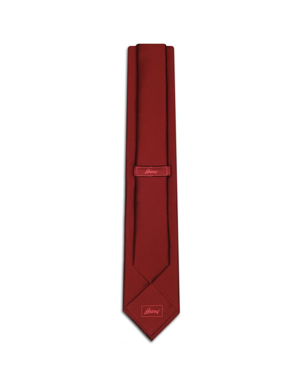 BRIONI Red Tie Tie [*** pickupInStoreShippingNotGuaranteed_info ***] r