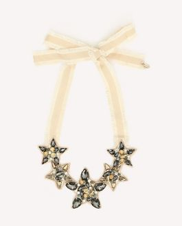 REDValentino GROSGRAIN PARTY NECKLACE
