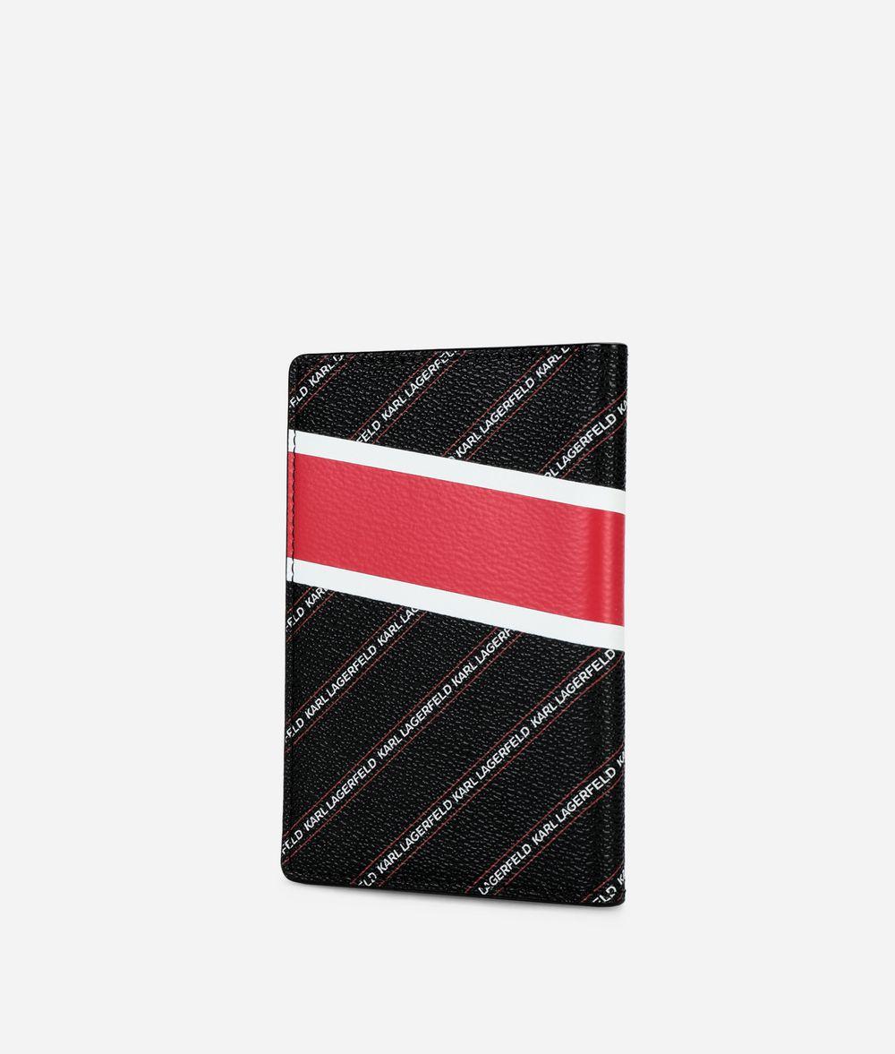 KARL LAGERFELD K/City パスポート ホルダー ロンドン カードケース レディース d