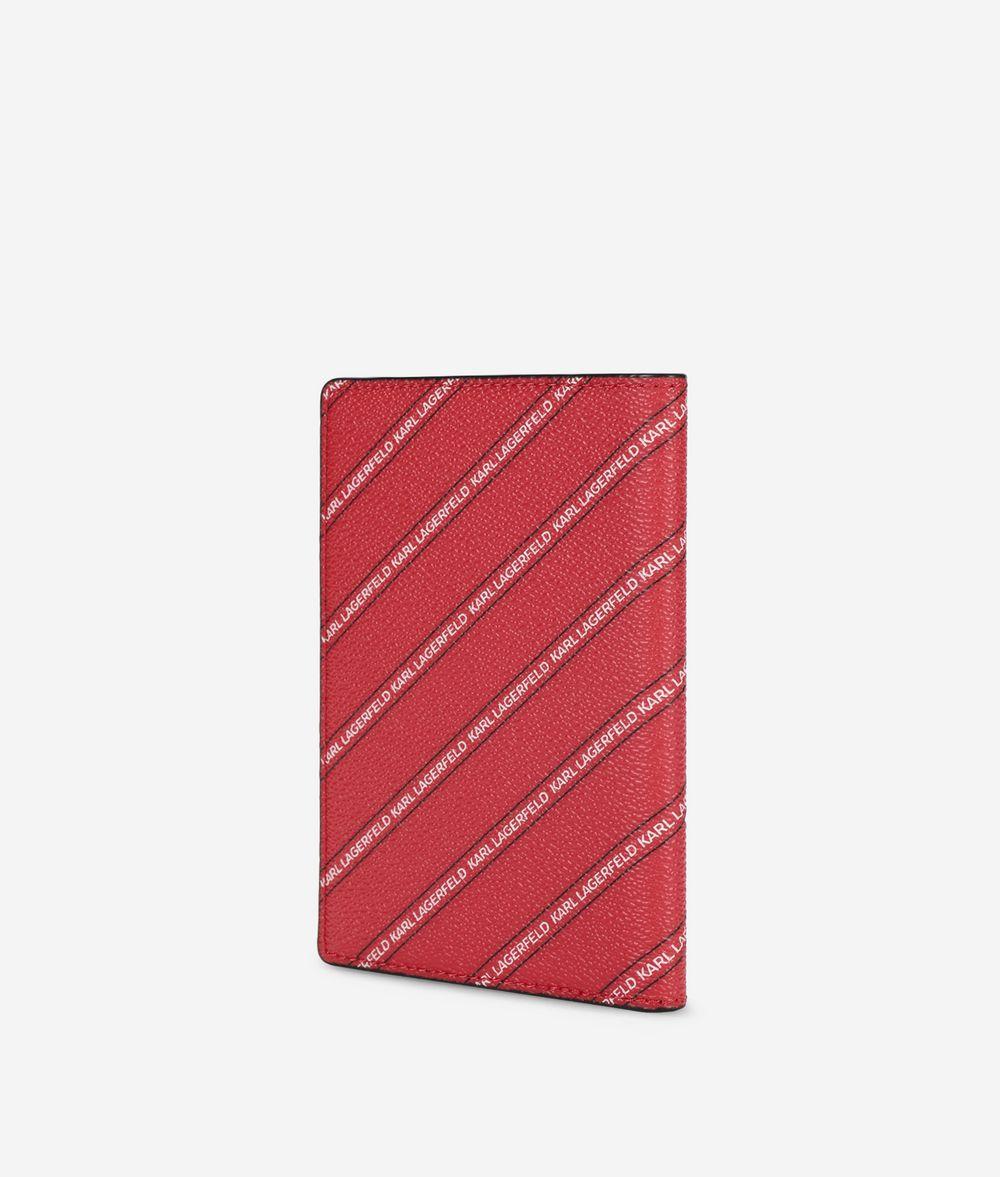 KARL LAGERFELD K/City パスポート ホルダー パリ カードケース レディース d