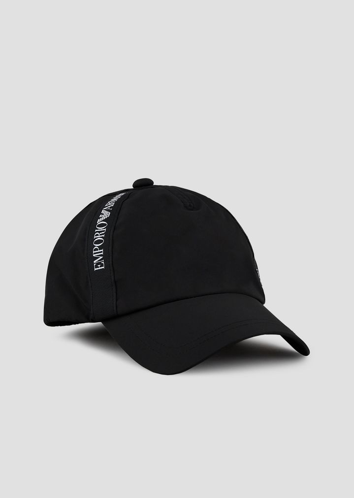 Baseball cap with logo taping  6773ca9fcaafe