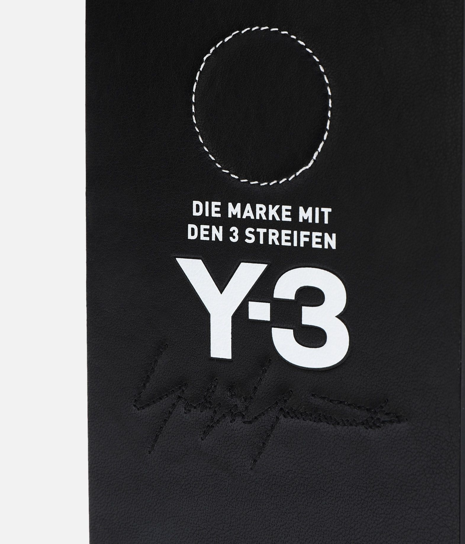 Y-3 Moulded Case Leather iPhone 6/6S/7/8+  Handy Case E d