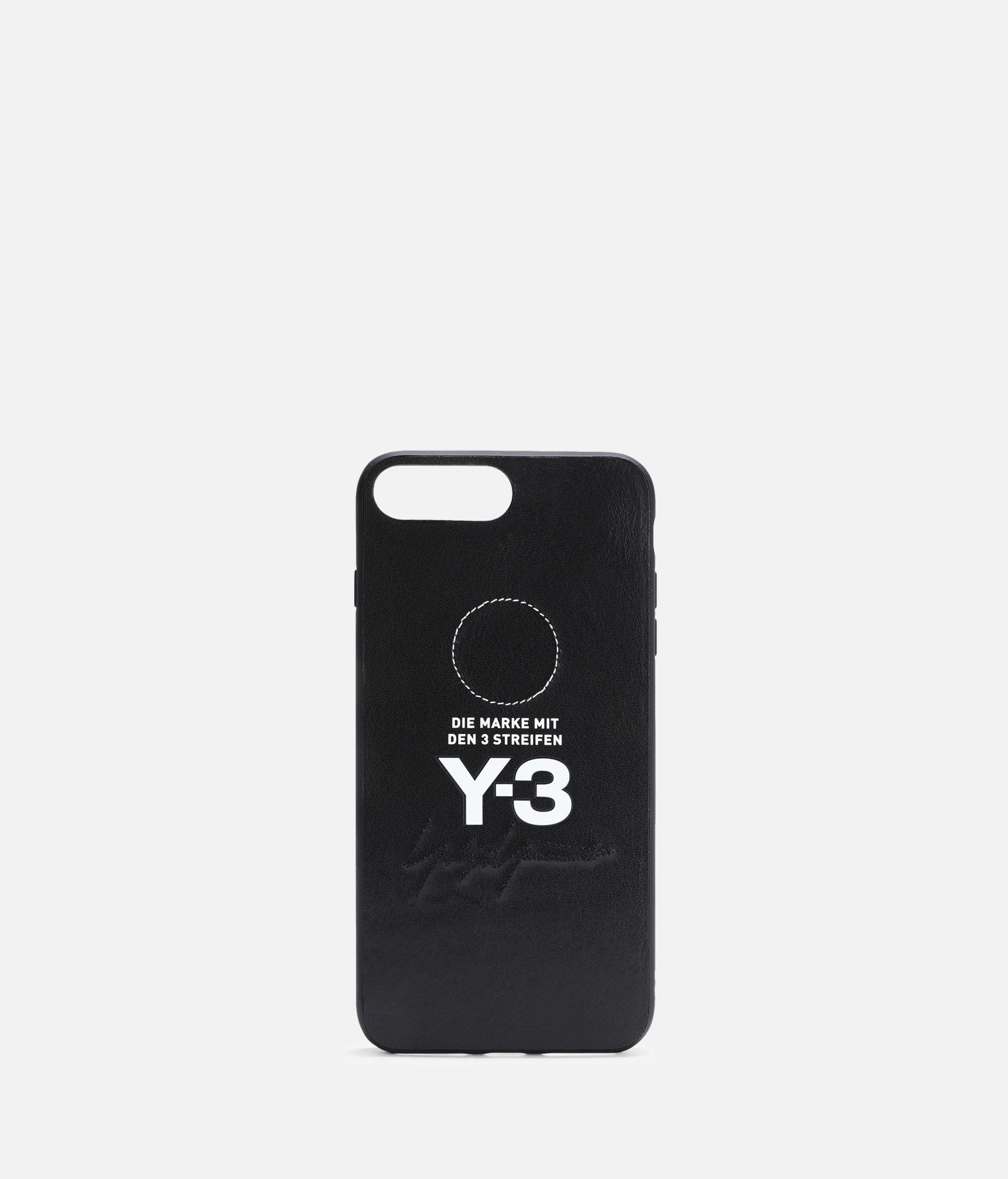 Y-3 Moulded Case Leather iPhone 6/6S/7/8+  Handy Case E f
