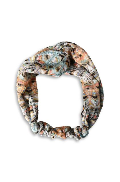 MISSONI Head band Orange Woman - Back