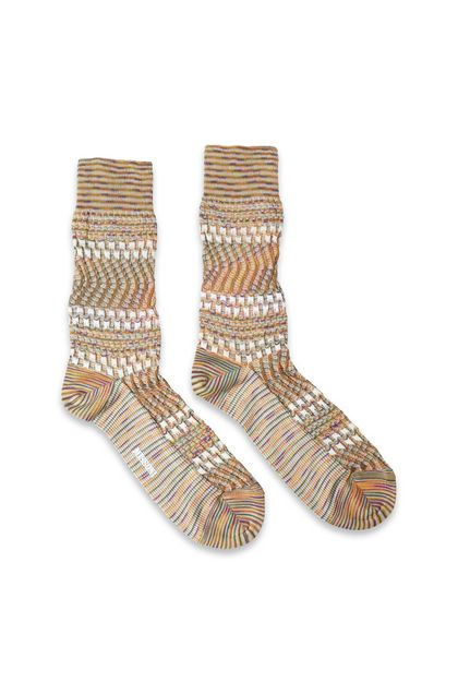 MISSONI Short socks Khaki Man - Back
