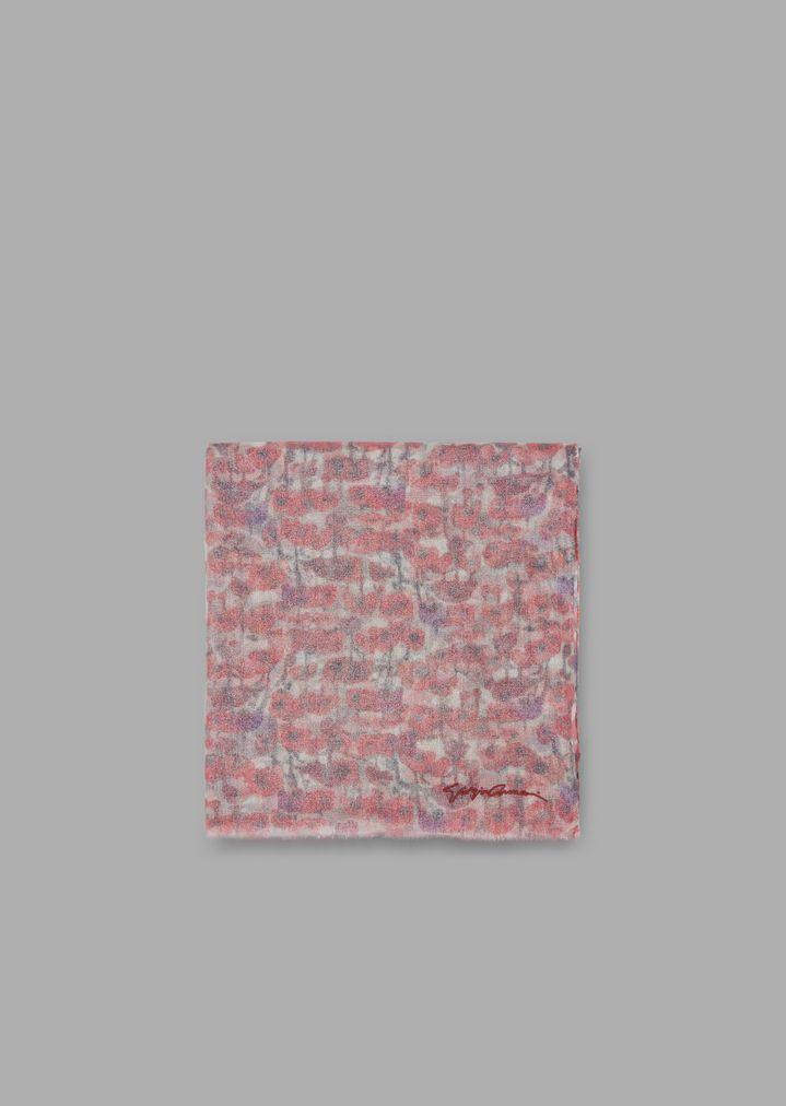 qualità eccellente bel design acquista lusso Pure cashmere stole in floral micro pattern | Woman ...