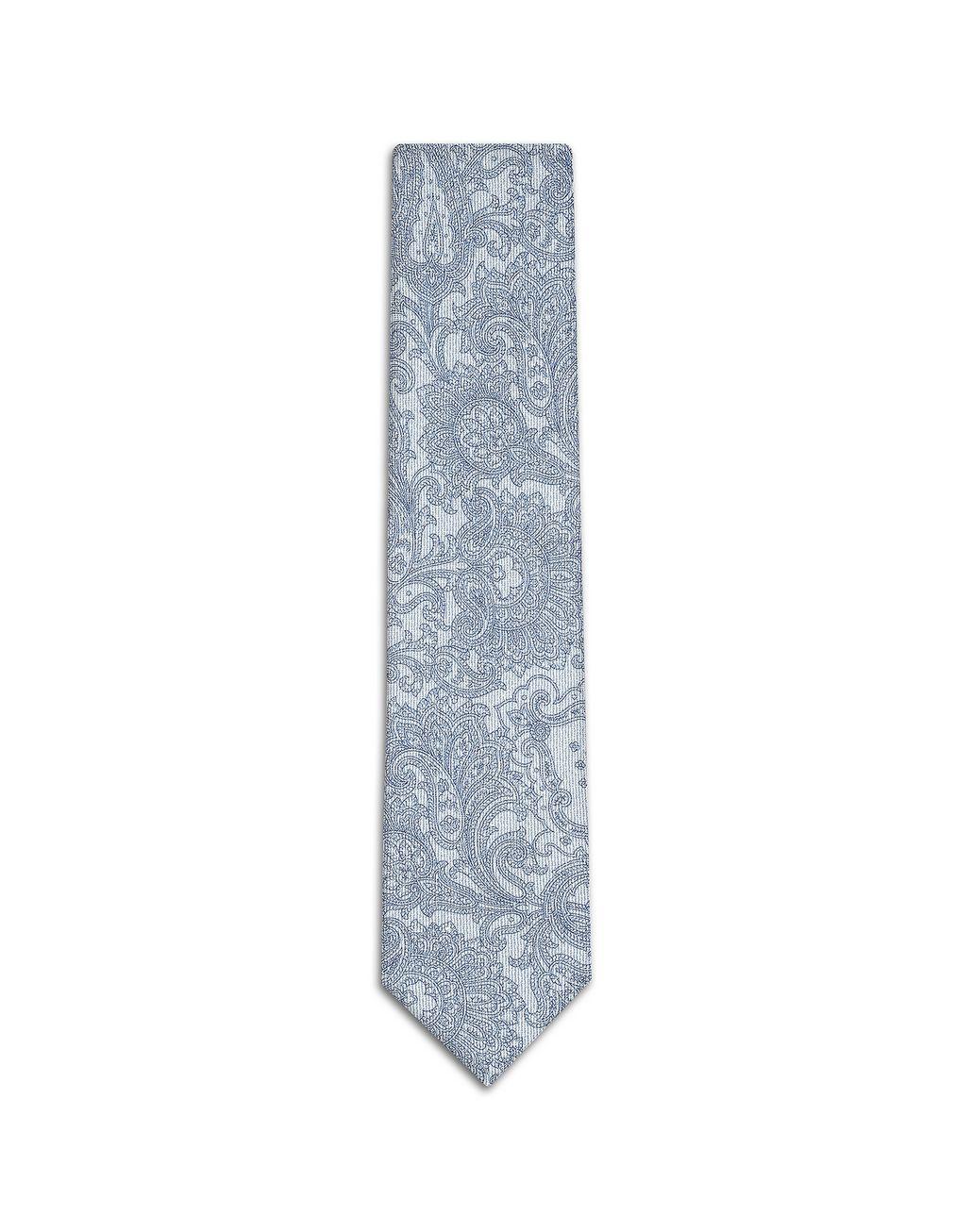 BRIONI Bluette Paisley Tie Tie Man f