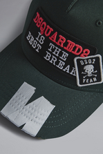 DSQUARED2 Best Break Baseball Cap Hat Man