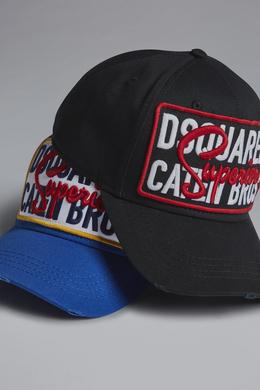 Dsquared2 Superior Baseball Cap Black - Hats for Men  2a54a4be0a42