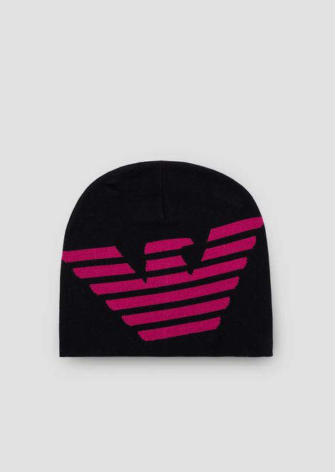 730246009e4 Knit beanie with logo