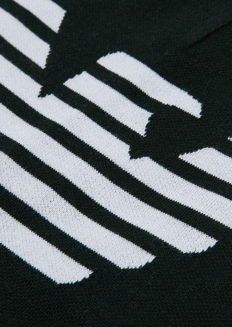 Bonnet en laine avec logo