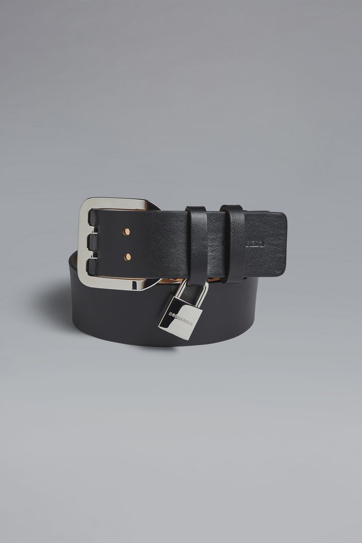 DSQUARED2 Punk Lock Buckle Belts Belt Woman