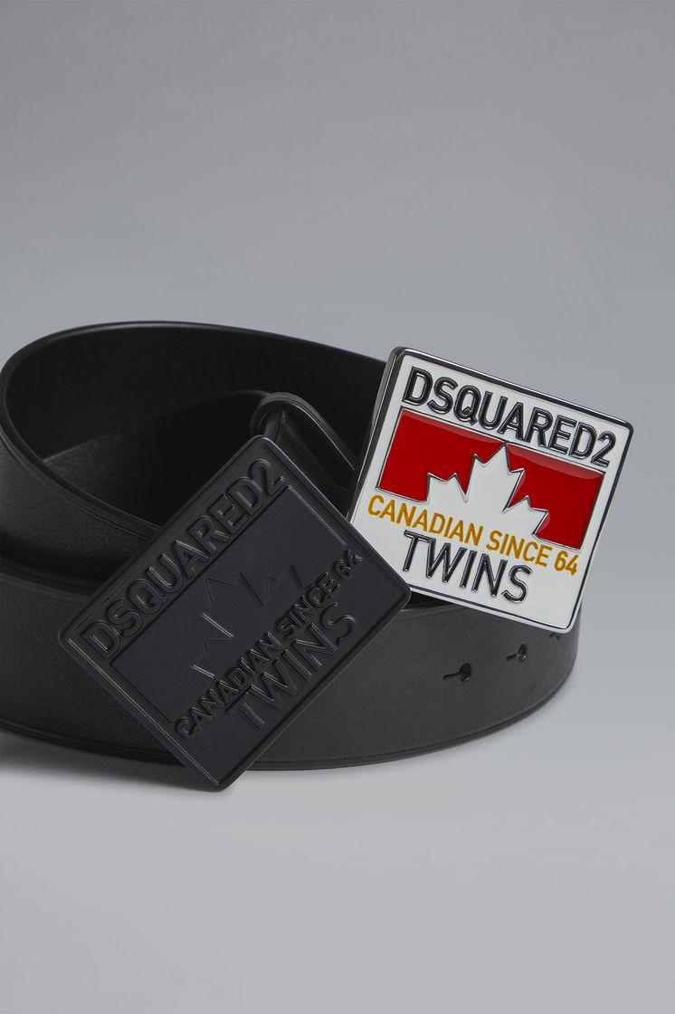 DSQUARED2 Young Plaque Belt Belt Man