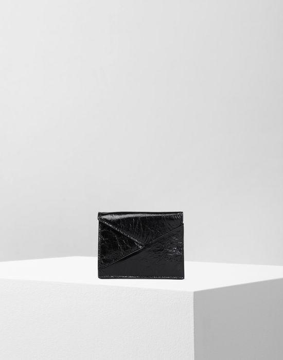 MM6 MAISON MARGIELA Japanese crinkled leather cardholder Key ring [*** pickupInStoreShipping_info ***] f