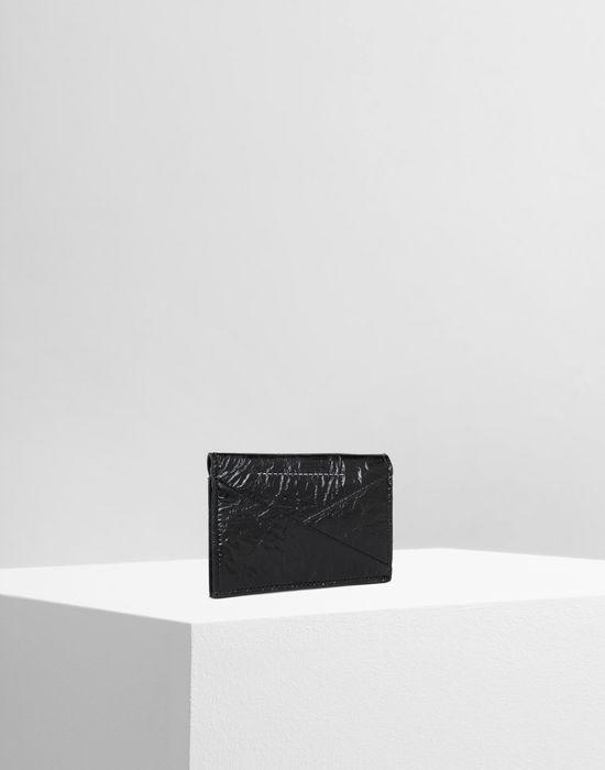 MM6 MAISON MARGIELA Japanese crinkled leather cardholder Key ring [*** pickupInStoreShipping_info ***] r
