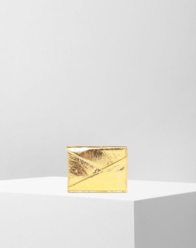Japanese crinkled leather  cardholder